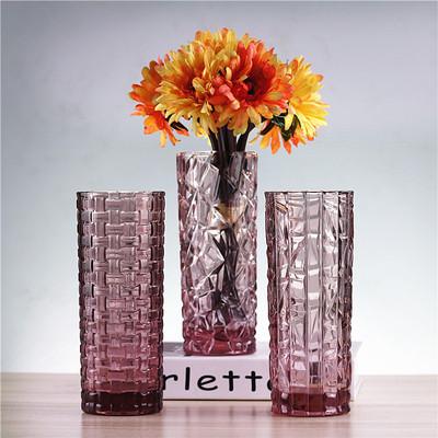 餐桌玻璃花瓶插花摆件