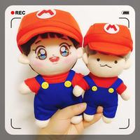 Mario Set Super Mario Clothes EXO Doll Clothes 20cm Baby Clothes 15cm Baby Clothes