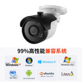 1080p grab machine indoor and outdoor USB surveillance video conference HD camera 2 million free drive 150 degree wide angle