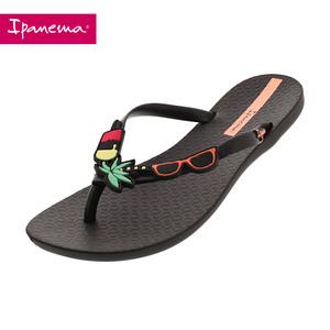 Ipanema2018新品女士人字拖 热带系列夹脚沙滩拖鞋夏天防滑凉拖