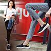 美着夏季休闲运动女鞋平底网面透气韩版潮鞋ins超火街拍女网鞋