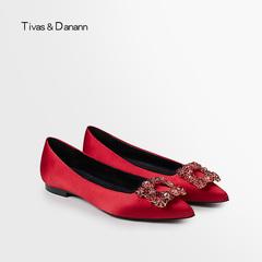 平跟女婚鞋