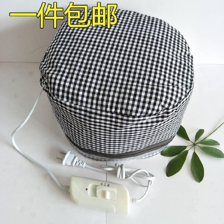 发膜帽子帽倒膜热发焗油机电热蒸发家用烫发美发头发护理加热染发