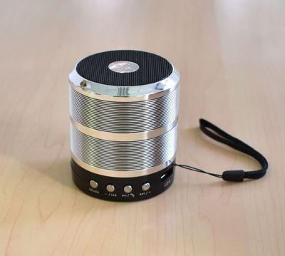 WS887无线蓝牙小音箱小钢炮便携式迷你无线FM收音插卡U盘手机音响