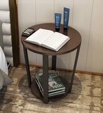 客厅小茶几北欧沙发边桌边柜简约现代边几角几阳台小圆桌床头桌子