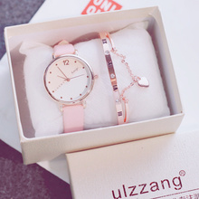 Ins Xiaoqingxin Cherry Blossom Female Department Watch Girls Middle School Students Korean Edition Simple Leisure Baitao Trend Uzzang