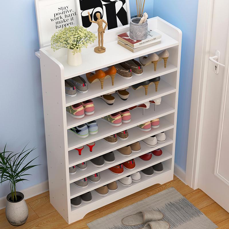 鞋架简易多层防尘经济型省空间家用组装鞋柜家里人宿舍门口小鞋架