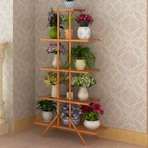 加固铁艺花架子多层欧式简约现代室内客厅阳台绿萝多肉植物花盆架