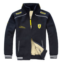 Pegasus spring and autumn new car overalls men's racing suit fleece jacket jacket sweater clothing