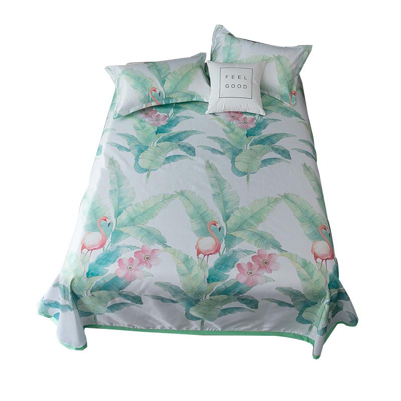 北极绒欧式床单式冰丝凉席三件套可折叠学生宿舍套件夏凉席子家用