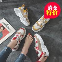 运动鞋韩版女鞋潮街拍
