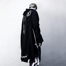 连帽大披风长款 风衣男中长款 秋装 燕尾欧美暗黑巫师帽斗篷外套C66