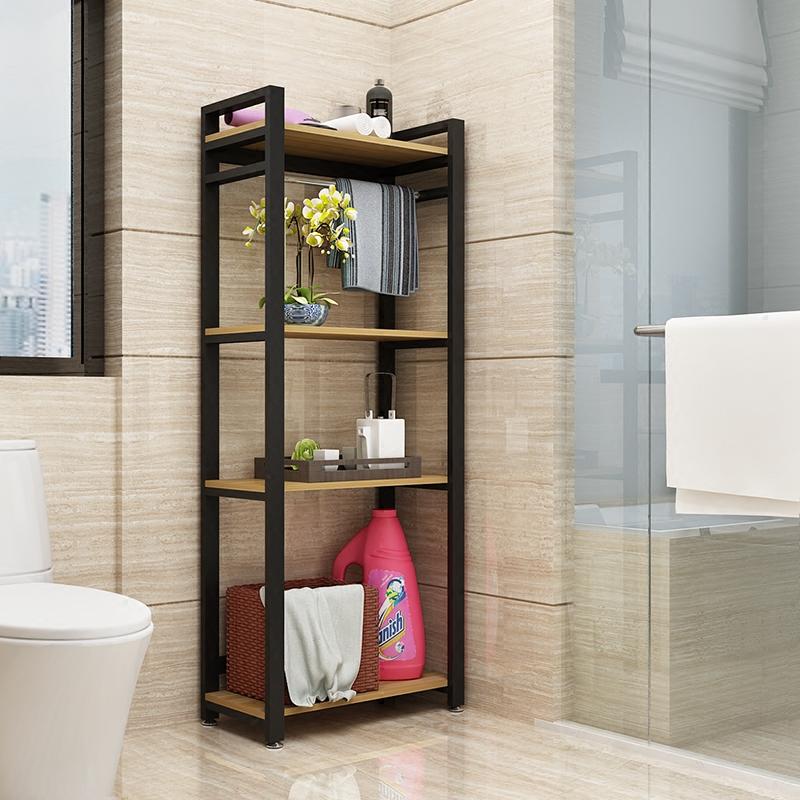 卫生间置物架落地厕所浴室收纳架多层洗手间脸盆架转角架储物架