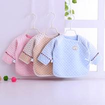 圣凡欧宝宝空调服夏季薄款长袖上衣竹纤维开衫新生婴儿儿衣服初生