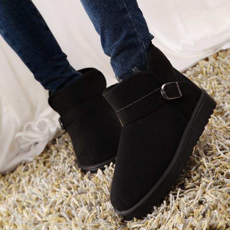 保暖学生短靴