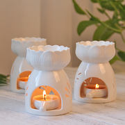 香世香薰精油灯 Zen ceramic oil stove candle bedroom home incense burner romantic beauty salon club