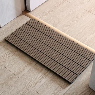 实木地垫进门门厅脚垫卫生间淋雨防滑垫子防水浴室踏板地板淋浴房排行榜