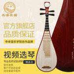 乐海 琵琶乐器专业花梨木琵琶花开富贵成人演奏912-3 民族弹拨