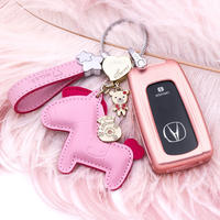 Applicable to Acura Key Case Car Key Shell Buckle Decoration Female RDX Interior TLX Refit MDX Supplies CDX