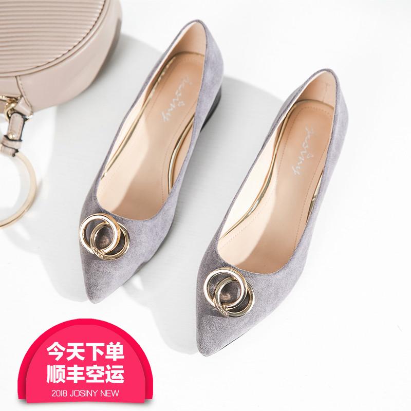 秋季灰色女鞋子