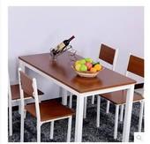 快餐饭店餐桌椅子可批发 可定做 简约现代钢木简易桌子餐桌椅组合