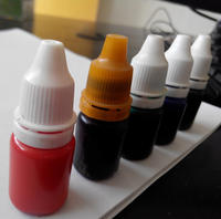 Photosensitive seal material Seal oil support wholesale small bottle of photosensitive oil Seal supplies Various colors