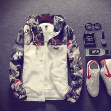 Spring 2019 New Men's Jacket Korean Edition Trendy Student's Loose Outerwear Baseball Suit Charge Printed Outerwear