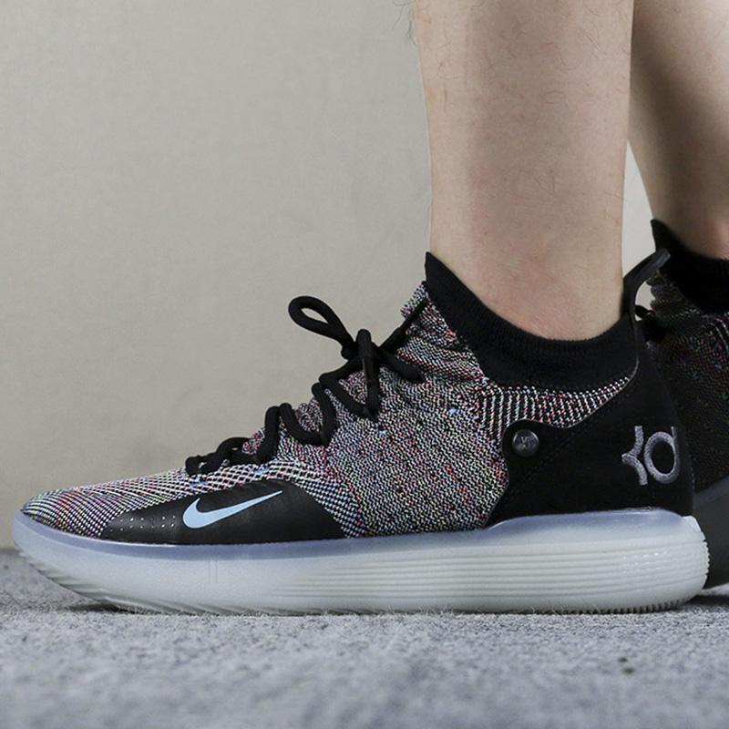 NIKE耐克男鞋2019新款运动鞋杜兰特11代战靴实战透气篮球鞋AO2605
