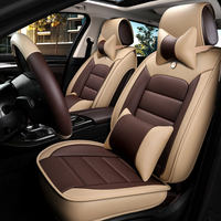 Car seat four seasons universal car seat cushion cover all leather seat cushion car cover special car seat cover