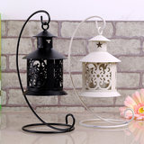 Jutang tribe Romantic warm retro European candlestick Wedding home decoration Iron electronic candle holder
