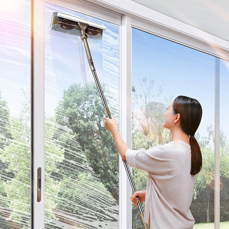 擦玻璃神器双面家用高楼搽窗器双层玻璃刷刮水器窗户清洁清洗工具