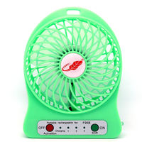 Mini Rechargeable Small Fan Handheld Portable Desktop USB Small Electric Fan Handheld Portable Student Wind