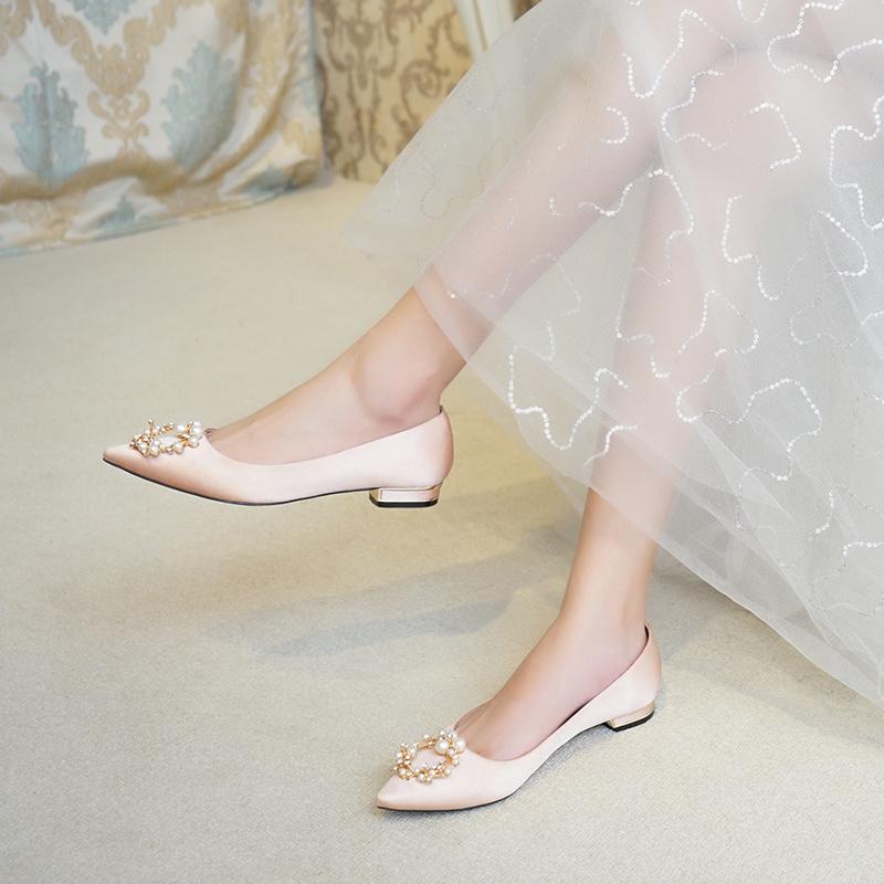 公主鞋婚鞋秋