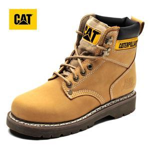 CAT卡特女鞋2018春夏款牛皮革/合成革/织物低靴P730109H1XDR71