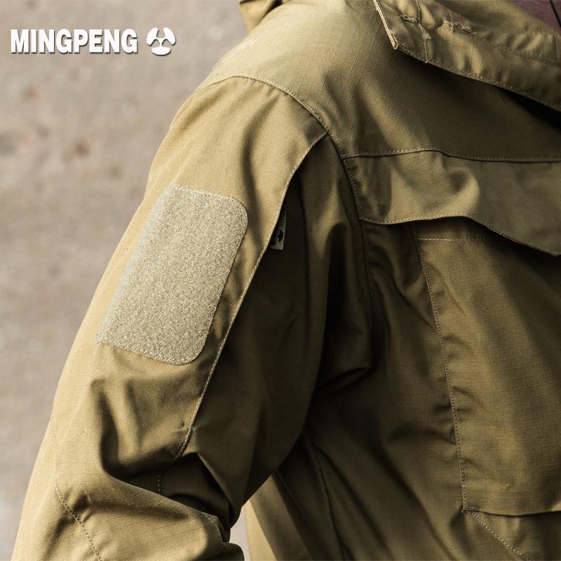 执政官春秋谍影战术外套男m65户外军迷冲锋衣中长款防水战地风衣