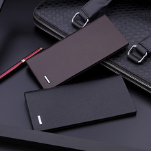 Men's wallet men 2018 new long section ultra-thin young men's card bag trend wallet student fashion personality tide