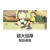Locked thickened cloth large mouse pad Computer sports game lol Timo cartoon cartoon Square table mat