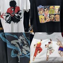 优衣库UNIQLO联名街头霸王CAPCOM Brands合味道日本街霸UT短袖T恤