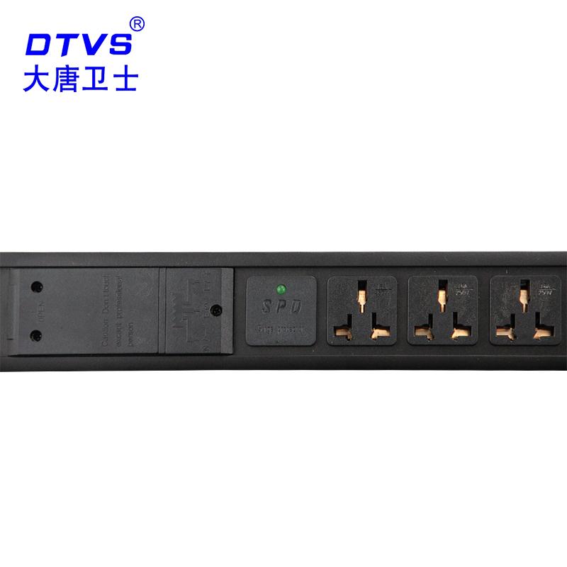 大唐卫士 DT92122-A 工业PDU电源插座机柜PDU插排32A 12位16A插孔