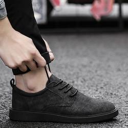 2018新款夏季休闲小皮鞋男士潮鞋韩版潮流英伦商务复古大头男鞋子