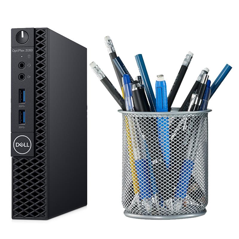 戴尔(DELL) OptiPlex 3060MFF G5400T/I3-8100T迷你微型电脑主机 mini小主机商用台式电脑 可选无线蓝牙