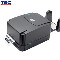 TSC ttp-244 Pro label printer barcode self-adhesive thermal paper ribbon clothing tag washing standard electronic single single-dimensional code Asian silver paper jewelry label fixed assets
