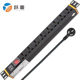 跃图SP-3008-10 PDU Cabinet Socket 8 Position Cabinet PDU Socket Input 10A Total Control Switch
