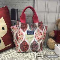 韩国妈咪包时尚手提包多功能小号母婴包轻便奶瓶包外出手拎便当包