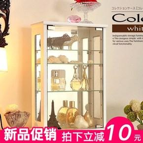 时尚现代简约玻璃酒柜精品展示柜酒吧吧台咖啡厅酒柜餐边柜柜上柜