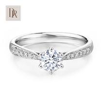 18K金镶嵌加工定制翡翠玉石戒指红蓝宝钻石吊坠高端珠宝首饰订做