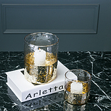 简约创意欧式防风玻璃罩蜡烛台样板房餐厅酒吧桌面客厅装饰品摆件