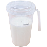 Camellia milk cup microwave hot milk with lid cup milk mouth cup microwave heating milk with hole milk cup
