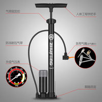 Bee high pressure pump bicycle portable home mountain bike car electric motorcycle basketball bicycle accessories