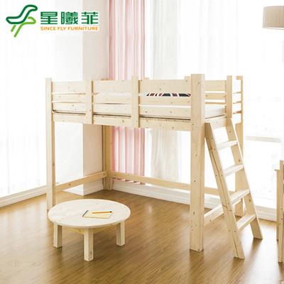 儿童床储物床实木